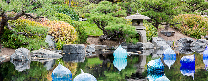 Japanese Garden Chihuly